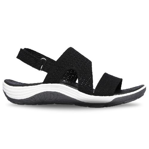 Black Reggae Cup Sandals  Skechers  Sandaler - Sko Til Dame