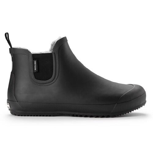 Bo Black Svart Gummistøvler af Tretorn Herrer